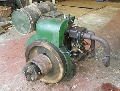 Vintage Petter A1 3 Bhp Air Cooled Stationary Engine Barn Find