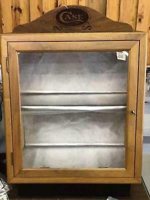 Case XX Knife Display Cabinet with Key Lot 313