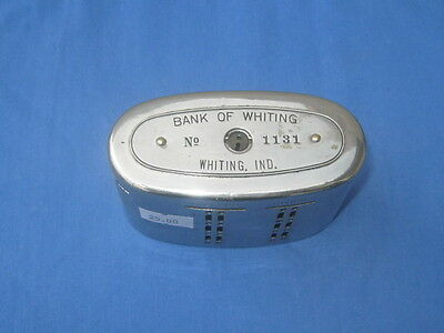 Automatic Recording Safe Co.   Bank Of Whiting Ind.      # 1131