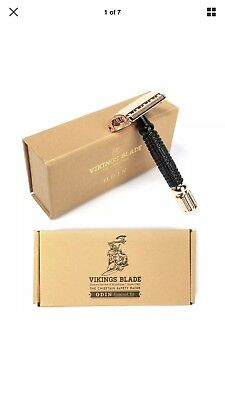 VIKINGS BLADE The Chieftain Safety Razor (Odin Limited Edition)