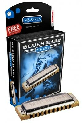 (A) - Hohner 532BX-A Blues Harp, Key Of A Major. Free Delivery