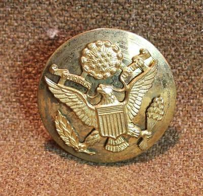 Wwii Us Army Enlisted Hat Badge   9766