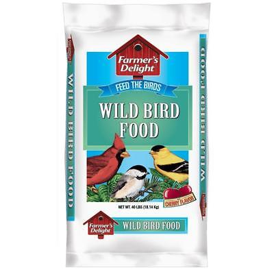 40 lb. Wagner's Farmer's Delight Wild Bird Seed Mix Backyard Feeder Food Bag NEW