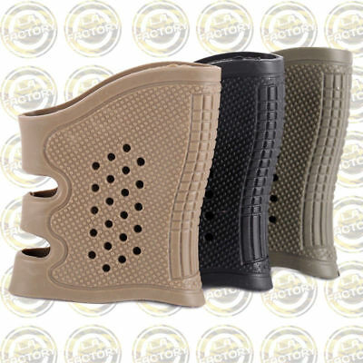 Tactical Rubber Handle Anti Slip On Cover Hand Grip Glove For Sleeve Handle 3pcs