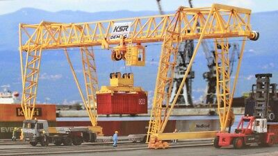 KIBRI HO 8530 Large movable Container Crane Kit for Marklin Roco Auscision NEW!