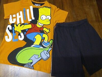 Pyjashort SIMPSONS taille 10 ans