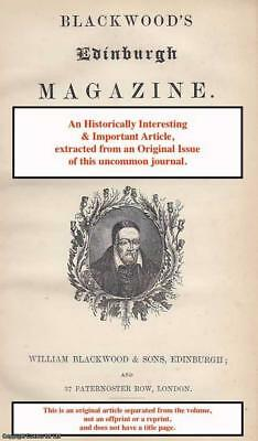 An Old French Book. A rare original article from the Blackwood's Edinburgh Magaz