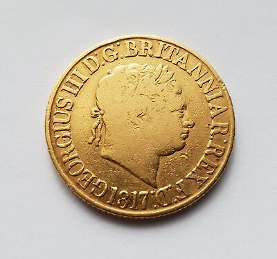 1817 King George III Gold Sovereign (Great Britain)