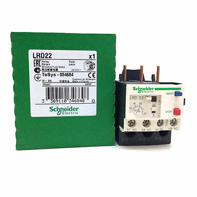 Schneider Electric LRD22 Thermal Overload Relay NO/NC, 16-24 A,24 A,TeSys 034648