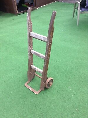 Antique Timber Sack Truck