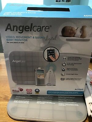 Angelcare AC1100 Baby Monitor - Video, Movement, Sound