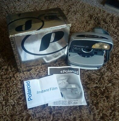Polaroid P 600 Camera *Tested Working* Boxed