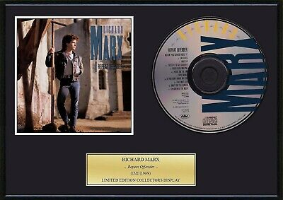 RICHARD MARX - Framed CD Presentation Disc Display - MULTI LISTING