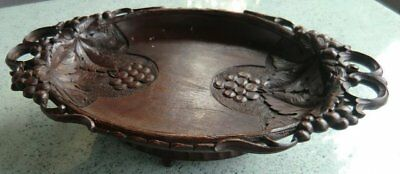 1900 Black Forest (BRIENZ) hand carved Music Tray/Bowl