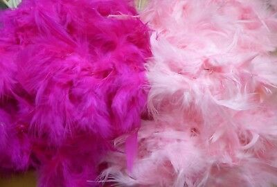 Feather Boa Choice Of Baby Pink Or Hot Pink Hen Night/Fancy Dress Etc