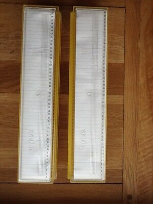 2 x Stacking Slide Holders by Wata of Germany each holding 50 slides