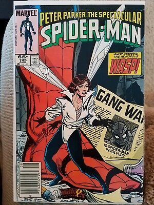 PETER PARKER THE SPECTACULAR SPIDER-MAN #105 THE WASP -High Grade