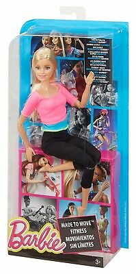Pink Top Barbie Made to Move Doll w/ 22 joints for an incredible range of motion