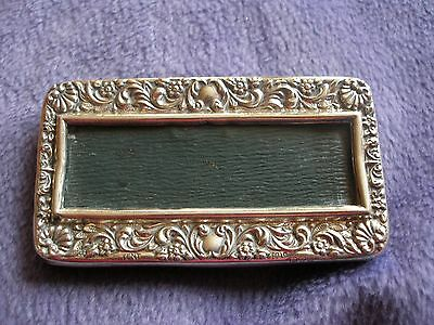 Small Silver Picture Frame, Chester 1907