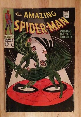 Amazing Spider-Man 63 1968 John Romita Vulture