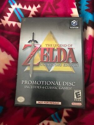 The Legend of Zelda: Collectors Edition (Gamecube) Case, and Documentation ONLY