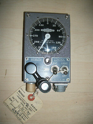 Peiler Receiver  RA10D Steuerheinheit  von 1943 RAF Royal Air Force Luftwaffe