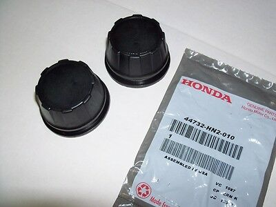 2 New genuine Honda wheel hub cap center cover 2001-2012 Rubicon  Rincon 650 680