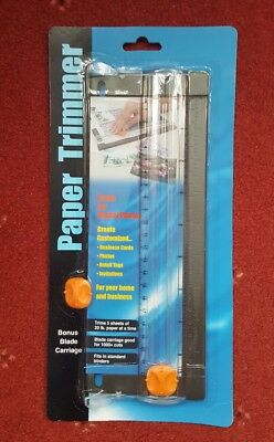 A4 Office/Craft Paper/Card Trimmer Photo Cutter Guillotine with extra blade