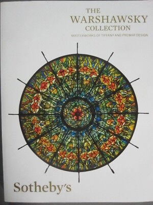 Sotheby 5/19/15 Warshawsky collection TIFFANY lamps & :Prewar Design