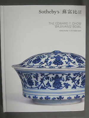 Sotheby 10/3/17 The Edward T. Chow 'Bajixiang' Bowl