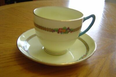 Crown Staffordshire Teacup & Saucer  Marking 13125