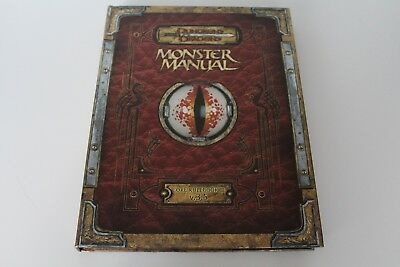 D&D Premium Dungeons & Dragons Monster Manual Core Rulebook III V. 3.5 Hardcover
