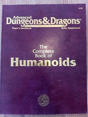 AD&D - The Complete Book of Humanoids