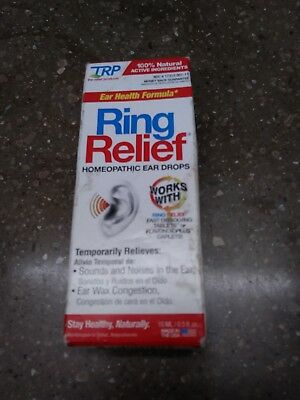 TRP Ring Relief Homeopathic Ear Drops 0.5 fl oz (15 ml)