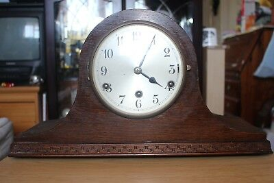 Westminster Chime Napoleon Hat Style Mantle Clock