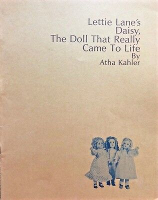 Lettie Lane's Daisy the Doll that Really Came to Life - Lane Antique Paper Book