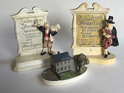 Three Sebastian Display Pieces (Two for Counter Use)