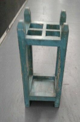 """Umbrella Stand Mission Style """"Shabby Chic Style"""" Antique"""