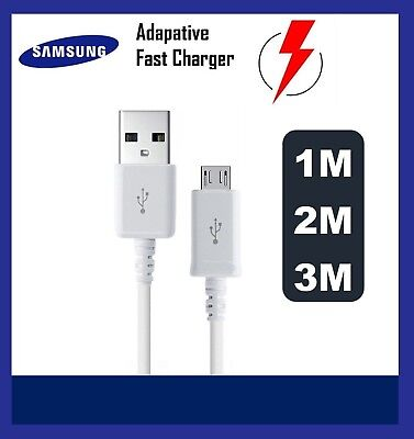 Genuine Original Samsung Galaxy A3 A5 J5 2015- 2016 S6 S7 Fast Charger USB Cable