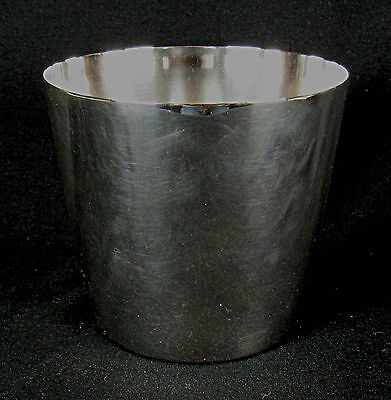 Wallace .923 Silver Plated Cup Excellent Condition