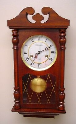 Wentworth 31 Day Time and Strike Wall Clock , Runs Great