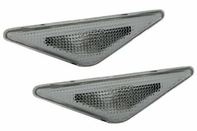 FORD Focus 98-04 CLEAR Mondeo 00-07 Side Indicator Light Repeaters Pair