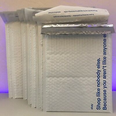 16 Ebay Branded Air Jacket Bubble Envelopes 9.5 x 13.25 Padded Poly Mailers