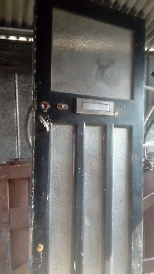 Original Vintage Front Door 1930s/40s?  Art Deco?? Dartford