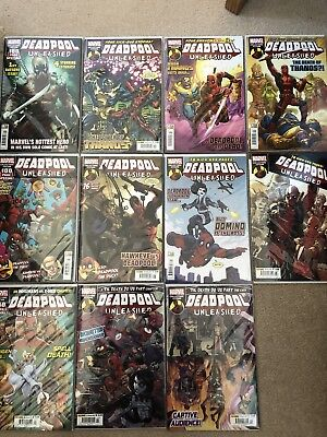 Deadpool Unleashed Issue 1-11