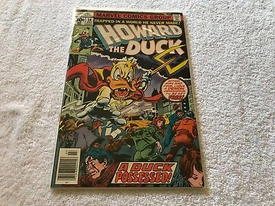 HOWARD THE DUCK 14 Marvel comic book