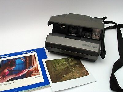 Polaroid Image Sofortbild Kamera für Impossible Spectra Film wide angle TESTED