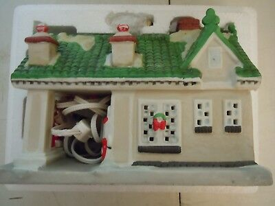 Texaco 1996 Texaco Town Filling Station 1st in Series Porcelain Limited Edition
