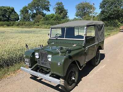 land rover series one 80 1952