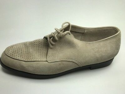 HUSH PUPPY Suede/Leather Mens Shoes size 11.5 Hush Puppies Vintage